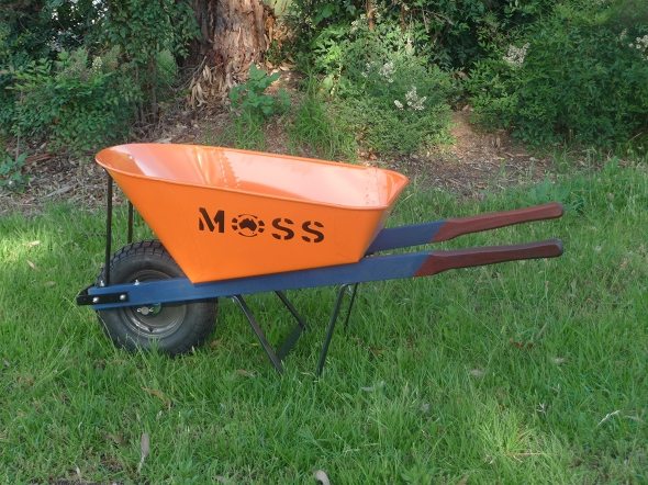 MOSS PREMIER POWDER COATED WHEELBARROW